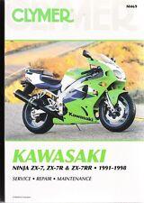 1991-1998 Kawasaki ZX7 ZX7R ZX7RR Ninja Repair Service Workshop Manual Book M469