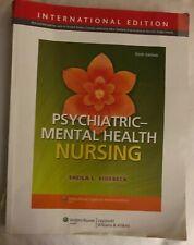 Psychiatric-Mental Health Nursing 9781451188998 by Videbeck PhD RN, Sheila L.