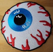 EYEBALL embroidered Patch - Iron On - FREE SHIPPING!