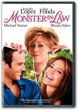 Monster In Law DVD New Jennifer Lopez Jane Fonda Michael Vartan Wanda Sykes