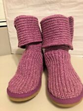 Kids UGG Classic # 5649 Knit Boots  Size 4Y (EU34) 100% Authentic
