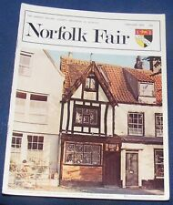 NORFOLK FAIR MAGAZINE FEBRUARY 1976 - CATHEDRAL IN FLAMES/GREAT SNORING