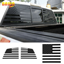 3pcs Rear Windshield Window Both Sides Decor Stickers For Ford F150 Raptor 09-14