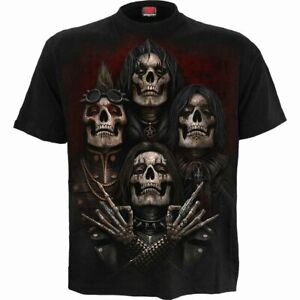 spiral direct faces of goth mens t shirt short sleeve gothic skulls new