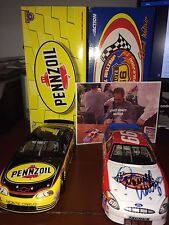 1/24 SIGNED Darrell Waltrip Rt 66 Victory Tour & DEI Pennzoil Action CWC LOT