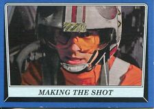 Star Wars Rogue One Mission Briefing Blue Base Card #65 Making the Shot