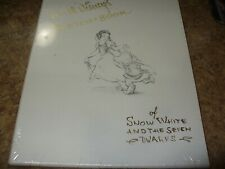 Walt Disney's Sketch Book of Snow White & The Seven Dwarfs Limited Gold Edition