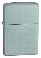 New ZIPPO Lighter 206 Satin Chrome Silver Free Shipping in Australia Genuine