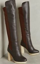 Australia Luxe Collective Melissa Over the Knee Boots Leather Shearling Sz 9/40