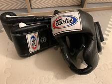 Fairtex Gloves And Head Gear MMA Boxing Size M