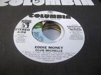 Rock Promo 45 EDDIE MONEY Club Michelle on Columbia (promo)