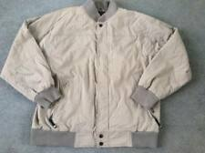 VANS KHAKI PADDED WARM JACKET EXTRA LARGE  54in CHEST GOOD CONDITION