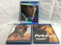Lot Of 3 Blu Ray Movies Tom Cruise American Psycho Mission Impossible 1 & 2