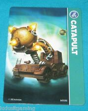 CATAPULT CARD Skylanders Giants  Sky Landers Giants All Systems