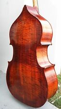 PROFESSIONAL FRANCH STYLE 3/4 UPRIGHT BASS, HELICORE STRINGS,REPAIRED