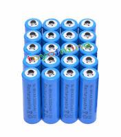 20x AA 3000mAh pile 1,2 V Ni-MH rechargeable Bleu Couleur cellule MP3 Jouets RC