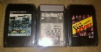 LOT OF 3 SEALED WAR 8-TRACK TAPES ALL DAY MUSIC LIVE THE WORLD IS A GHETTO LOOK!
