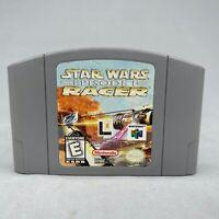 *Good* Star Wars Episode 1 Racer Nintendo 64 N64 OEM Authentic