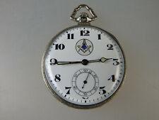 Offene Freimaurer / Logen Taschenuhr Illinois Watch 1923 (59213)