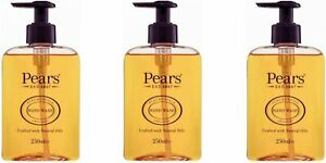 3x Pears Pure & Gentle Hand Wash Original 250ml