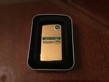 ZIPPO 1996 Centennial Olympic Slim Lighter - New - Collectors Limited Edition
