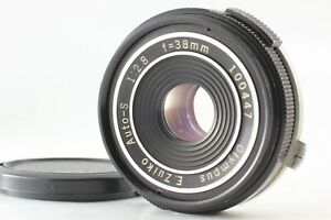 {Optical NEAR MINT} OLYMPUS E.Zuiko Auto-S 38mm f/2.8 Pancake Lens Pen JAPAN 472