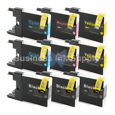 9 PACK LC71 LC75 Ink Cartridge for Brother MFC-J280W MFC-J425W MFC-J435W LC75