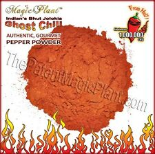 Smoked Dried Bhut Jolokia Powder | Ghost Pepper Powder (5 size variations)