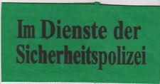 German    Im Dienste der Sicherheits Polizei  armband