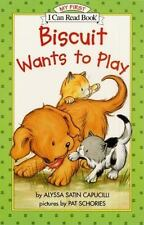 Biscuit Wants to Play (My First I Can Read) by Alyssa Satin Capucilli, Good Book