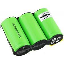 Batteria per Gardena modello Accu60 3,6V 3000mAh/10,8Wh NiMH