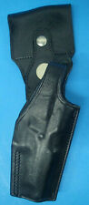 SAFARILAND S & W 9 MM Leather Pistol Belt Holster Monrovia Calif. Patented