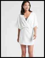 Athleta NWT Women's Luxe Wrap Kaftan Size Small Color Calla Lily