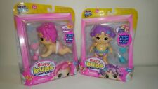Little Live Pets Bizzy Bubs Baby Dolls POLLY PEDALS & PRIMMY New