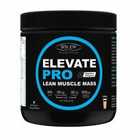 Sinew Nutrition Elevate Pro Lean Muscle Mass Gainer Protein Powder with Digestiv