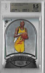 2007-08 Bowman Sterling Kevin Durant RC - BGS 9.5 Gem Mint