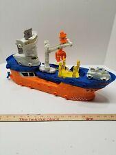 Matchbox Mega Rig Shark Ship Build System