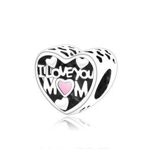 925 Sterling Silver Family Love Mum Wife Aunt Dad Nan Grandma Heart Charm Beads