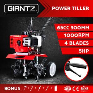Giantz 65CC Cultivator Tiller Rototiller Garden Soil Power Mini Rotary Hoe
