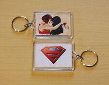 Sanvers keychain. Alex Danvers & Maggie Sawyer. Supergirl, fanart, gift, keyring
