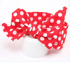 Kids Girl Baby Toddler Bow Headband Hair Band Accessories Headwear Head Wrap