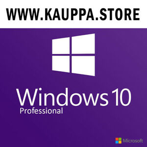 Microsoft Windows 10 Pro  Professional  Key 32/64 bit