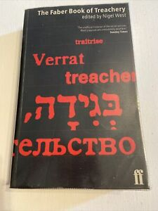 The Faber Book of Treachery by Nigel West History Of Secret Services