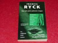 [BIBLIOTHEK H.& P J. OSWALD] SCHREIBTISCH SCHWARZ # 39 F. RYCK FISCHE ROT 2000