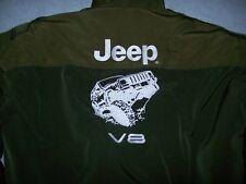 NEU Jeep  CHEROKEE V8 Fan - Jacke olivgrün jacket veste jas giacca jakka