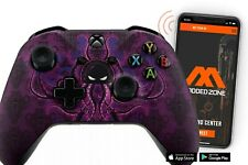 """""""Mad Octupus"""" Xbox One S SMART Custom Rapid Fire Modded Controller. FPS mods.COD"""
