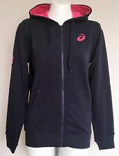 STADE FRANCAIS RUGBY NAVY FULL ZIP HOODY BY ASICS SIZE ADULTS MEDIUM BRAND NEW