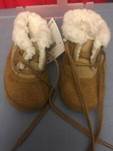 New Gymboree Baby Moccasin Boots Size 3