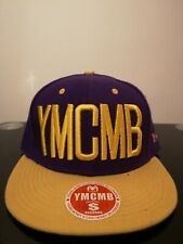 Brand New YMCMB Hollister Snapback Purple Yellow Adjustable Size w tag