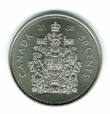 2008-M Canadian Brilliant Uncirculated Fifty Cent coin!